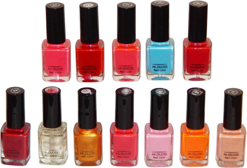 Firstzon Nail Color Combo Set Of 12 12ml Each Set A Price In