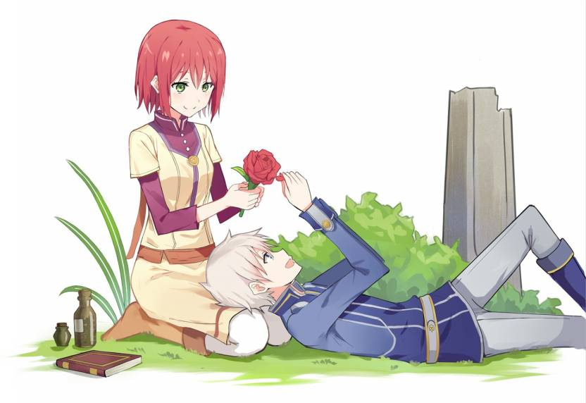 Athah Anime Snow White With The Red Hair Shirayuki Zen