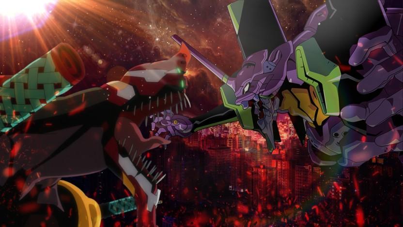 Anime Neon Genesis Evangelion Poster Wallpaper 24 X 13 inch