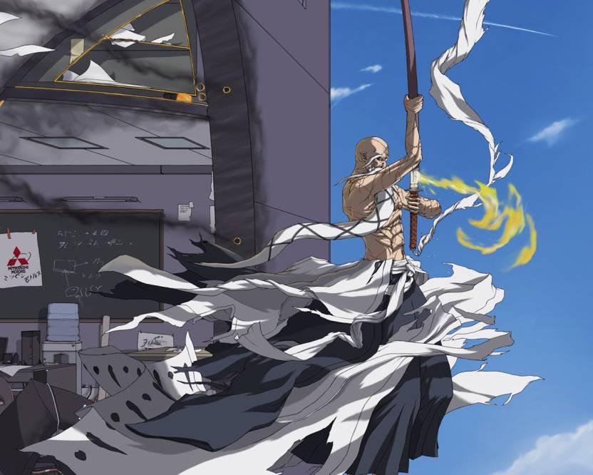 Athah Anime Bleach Genryūsai Shigekuni Yamamoto 1319 Inches