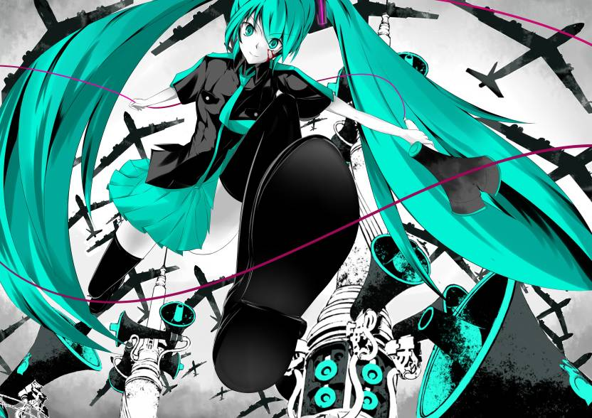 Athah Anime Vocaloid Hatsune Miku Song Illustration Love Is War 13
