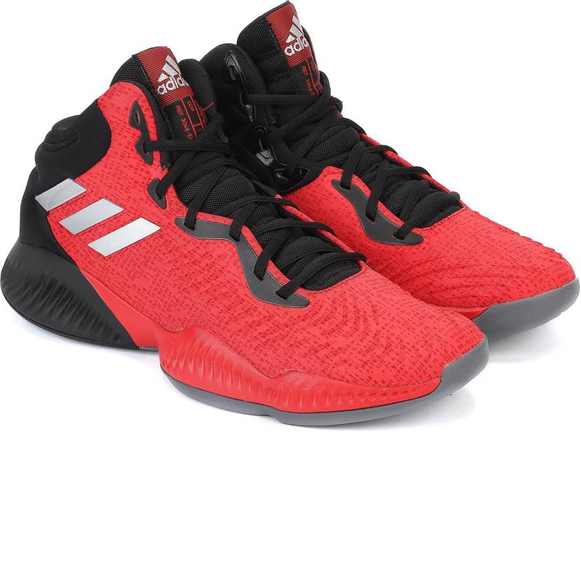 best website cd698 053c8 ADIDAS MAD BOUNCE 2018 Basketball Shoes For Men (Red)