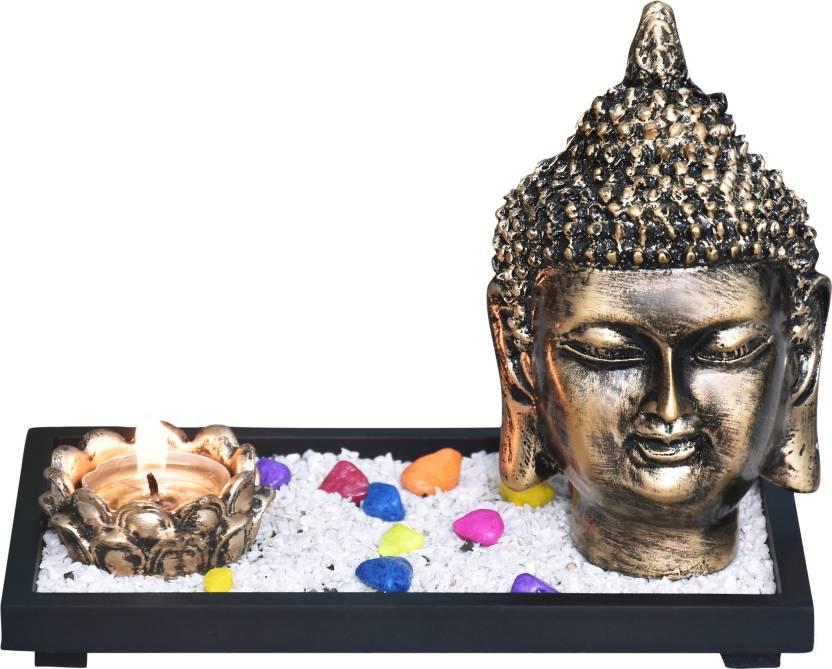Mariner S Creation Buddha Face Idol Statue Showpiece For Home Decor