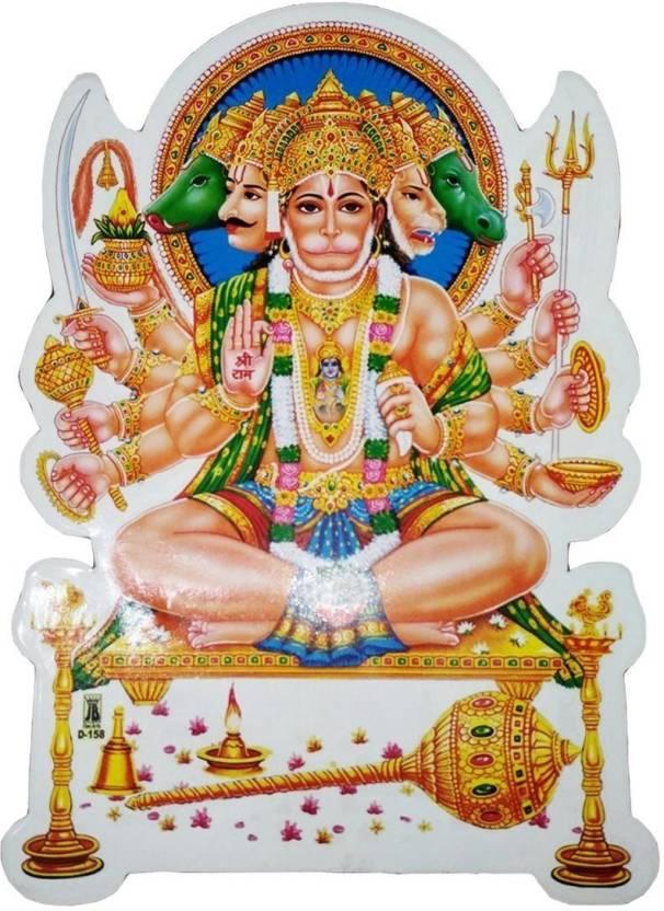 Ratnatraya Medium Sticker Sticker