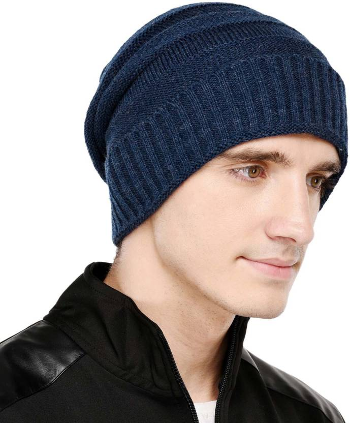 VR Designers Self Design Winter Beanie Cap - Buy VR Designers Self Design  Winter Beanie Cap Online at Best Prices in India  d6513e31125