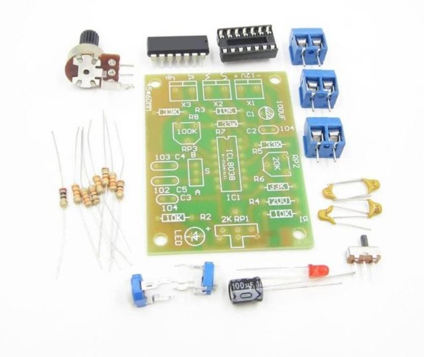 KitsGuru ICL8038 Monolithic Function Signal Generator Module DIY Kit