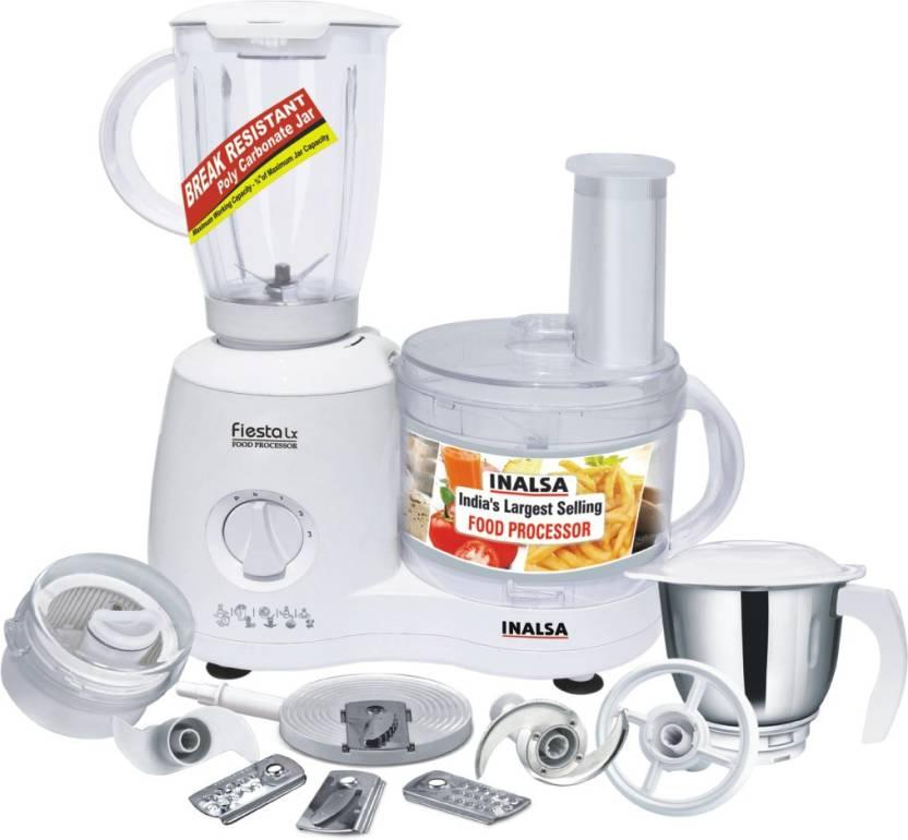 Inalsa Fiesta Lx 650 W Food Processor