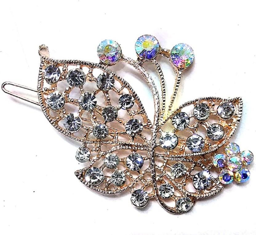 Fashion Crystal Bridal Hair Comb Prom Night Party Fancy Dress Wedding Hair Clip