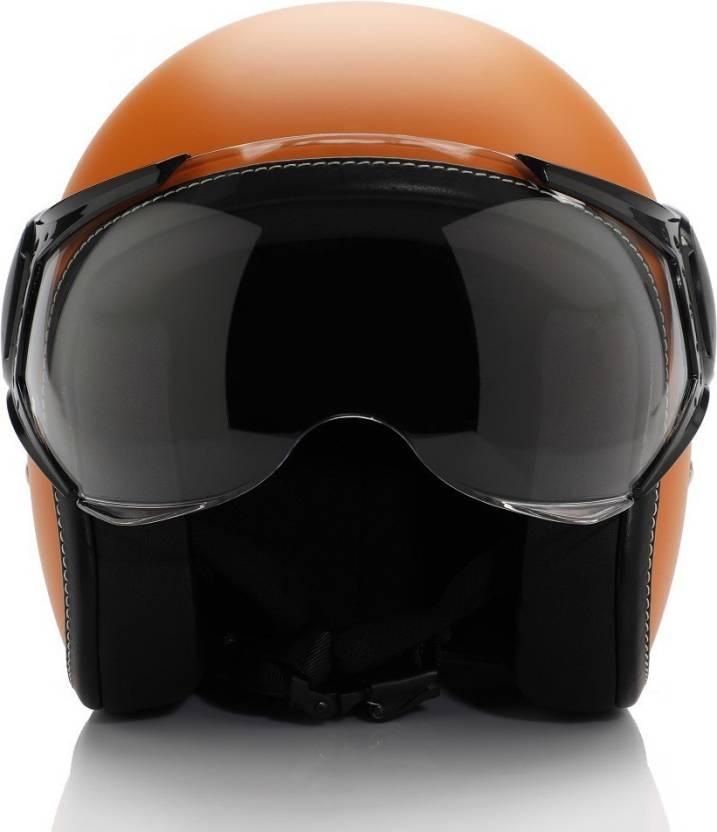 Vespa Colour Helmet Orange Motorbike Helmet Buy Vespa Colour