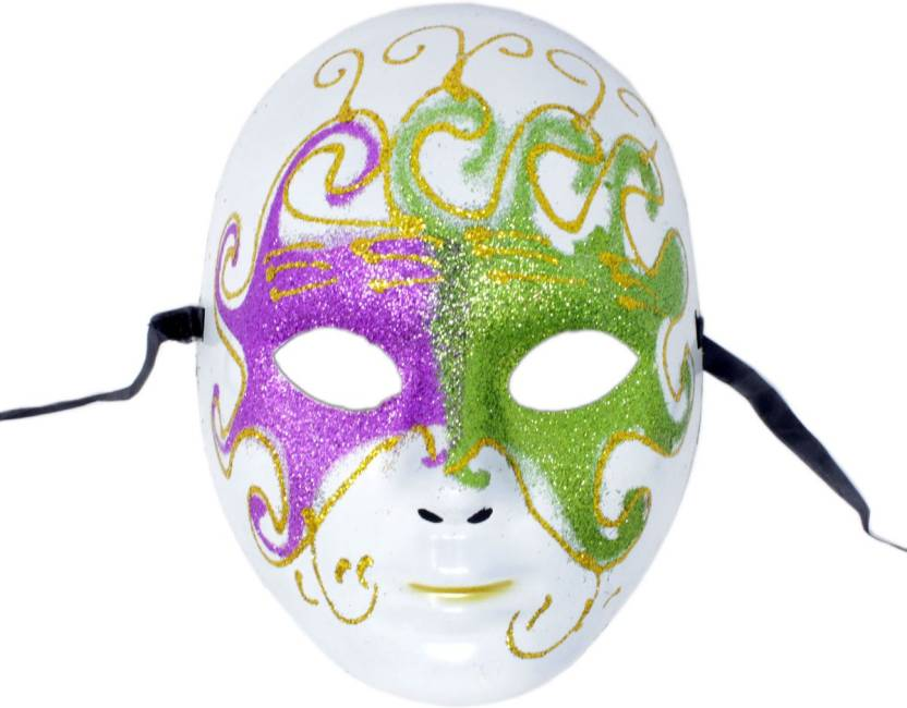 Carnival Dance Multicolor 2fns187 Face Props Tootpado Mask -