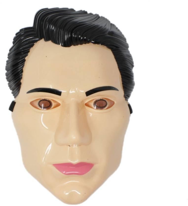 Tootpado Super Hero Cartoon Face Mask With LED Light Halloween Props
