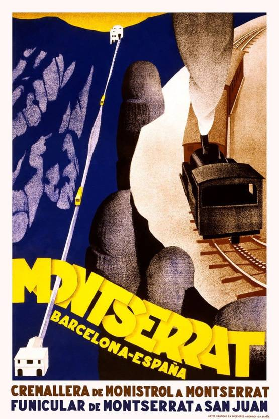 Montserrat Poster Fine Art Print - Art & Paintings posters in India