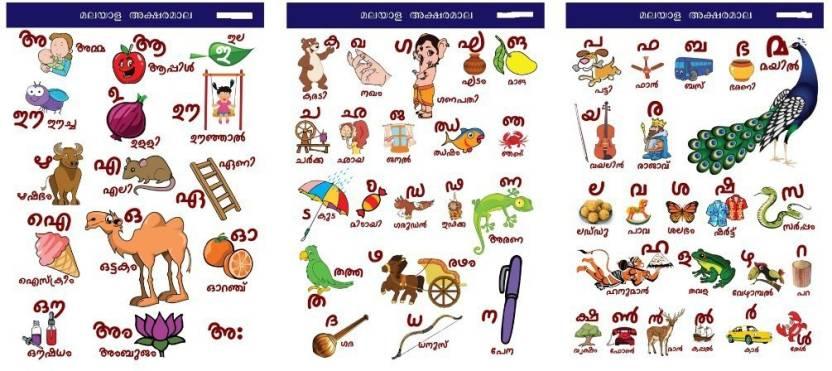 Malayalam Alphabets