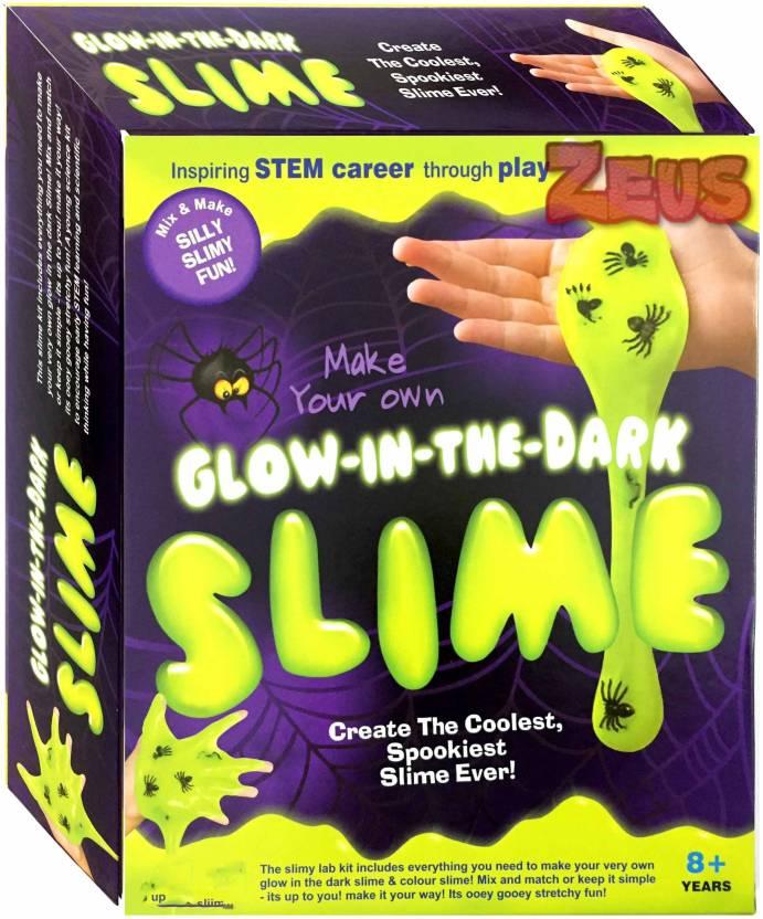 Zeus Ekta Glow in the dark slime lab kit chemistry science