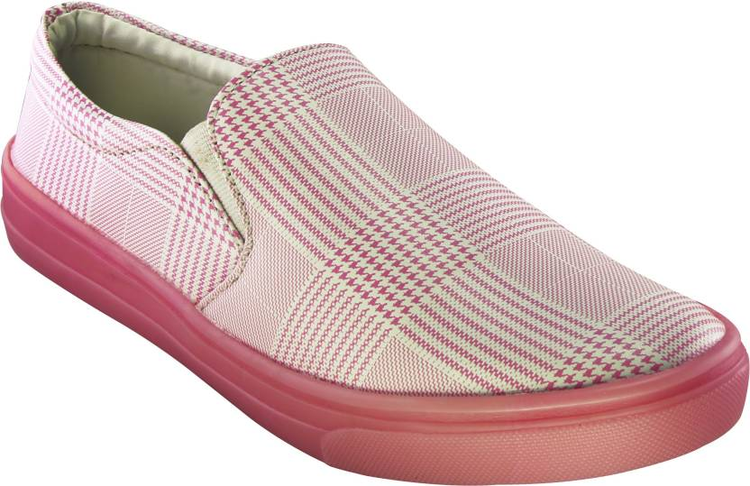 ed96133374 Zapatoz Presents Designer Pink PU Smart Lightweight /Casual Shoes ...