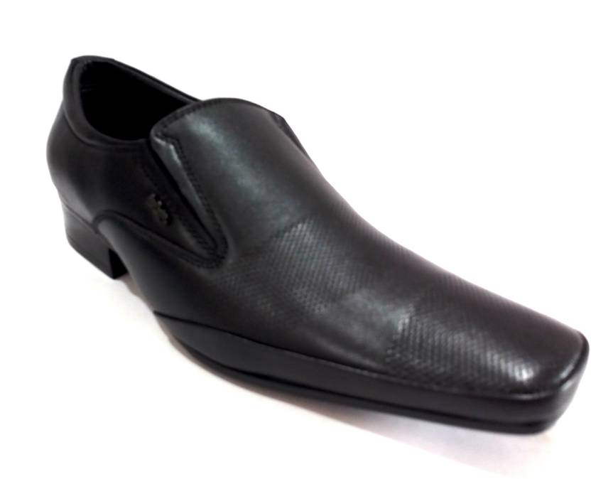 new arrival 2c261 a8ca2 Lee Cooper LC1576B BLACK Slip On For Men (Black)