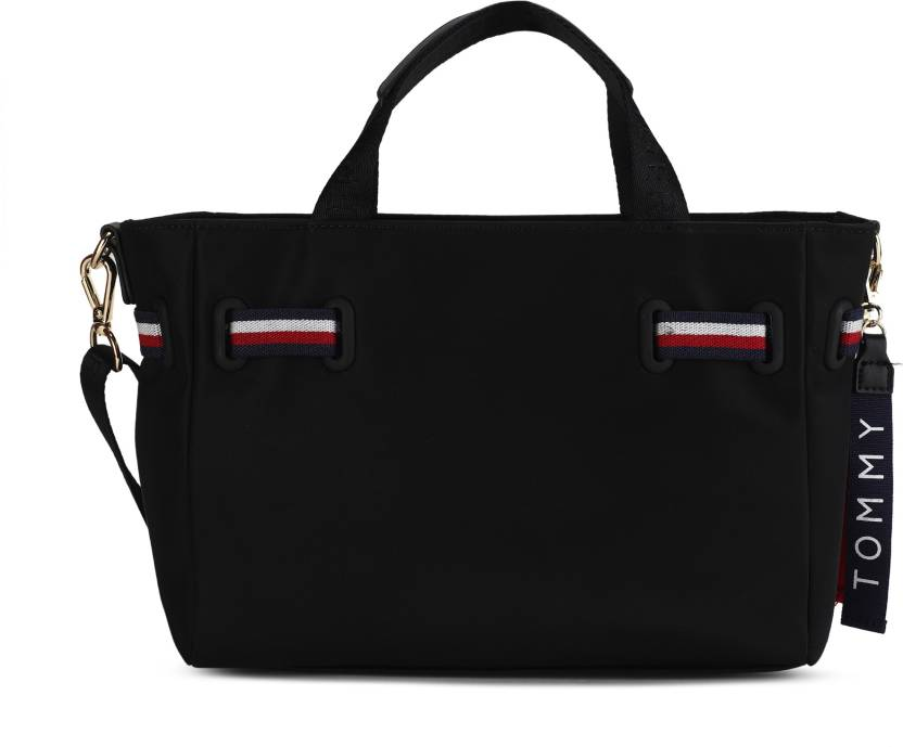 020b86d1f Tommy Hilfiger Women Casual Black Nylon Tote BLACK - Price in India |  Flipkart.com