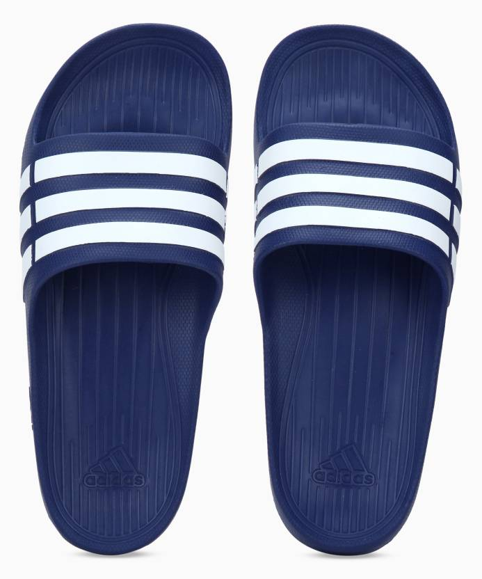 f2695de3a ADIDAS DURAMO SLIDE Slides - Buy ADIDAS DURAMO SLIDE Slides Online at Best  Price - Shop Online for Footwears in India
