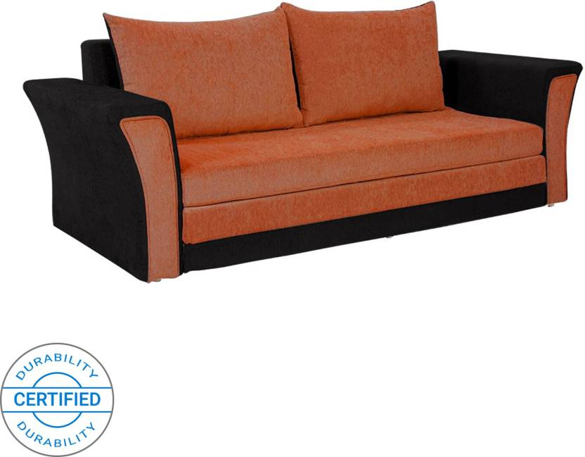 Bharat Lifestyle Double Solid Wood Sofa Bed Price In India Buy
