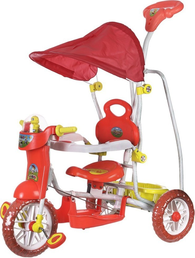 Dash Kids VEGA Musical tricycle with Canopy and Parent Push Handle (Red)u2026 DASH1_VEGA_DELUXE_RED Tricycle (Red)  sc 1 st  Flipkart & Dash Kids VEGA Musical tricycle with Canopy and Parent Push Handle ...