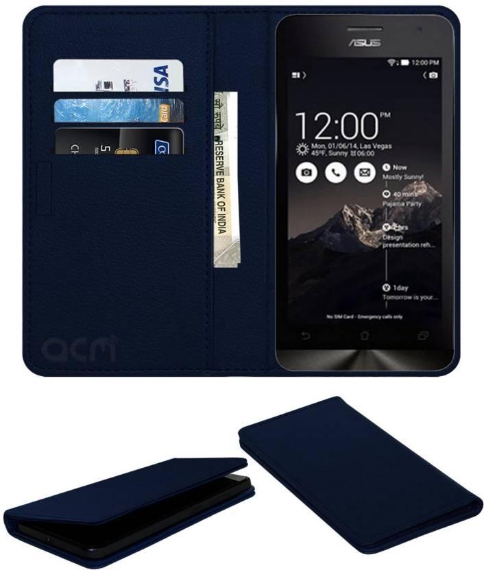 new concept e9dbf 30240 ACM Flip Cover for Asus Zenfone 4 A400cxg - ACM : Flipkart.com