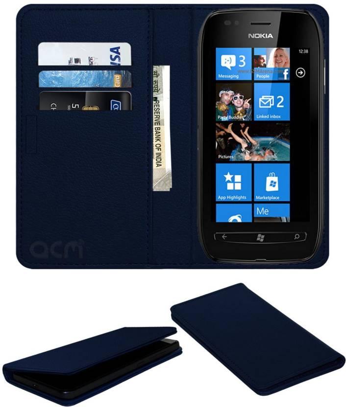 half off 0e6d5 147b3 ACM Flip Cover for Nokia Lumia 710 - ACM : Flipkart.com