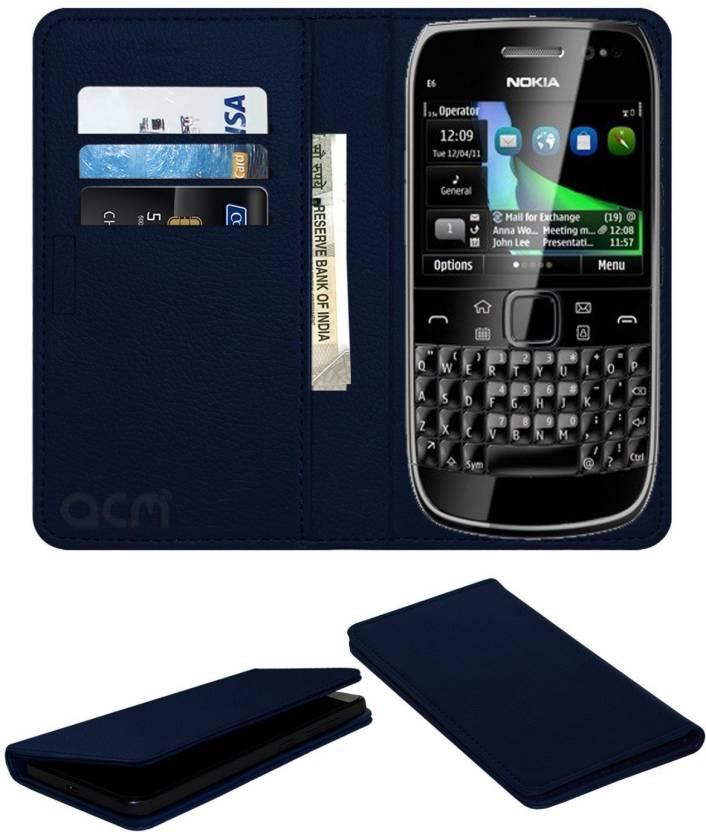 size 40 76fcd 0bdd2 ACM Flip Cover for Nokia E6 - ACM : Flipkart.com