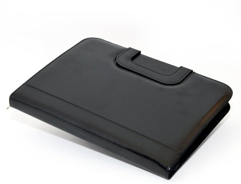 Padfolio A4 Portfolio Case with Document Holder Black