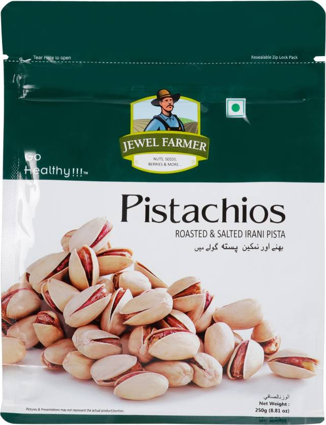 Jewel Farmer Pistachio ( 250 g) Pistachios Price in India - Buy