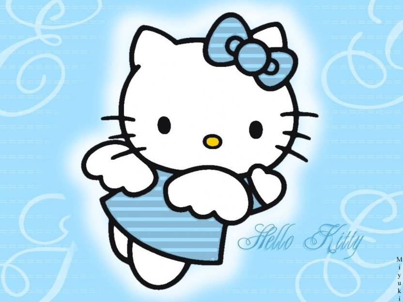 Athah Anime Hello Kitty 13 19 Inches Wall Poster Matte Finish Paper