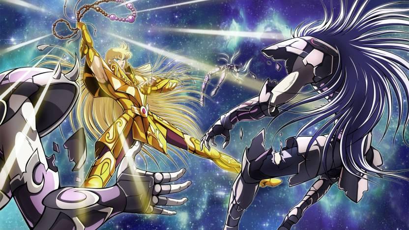 Athah Anime Saint Seiya Capricorn Shura Aquarius Camus