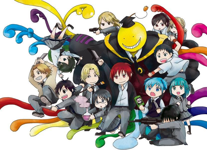 Athah Anime Assassination Classroom Karma Akabane Ryuunosuke