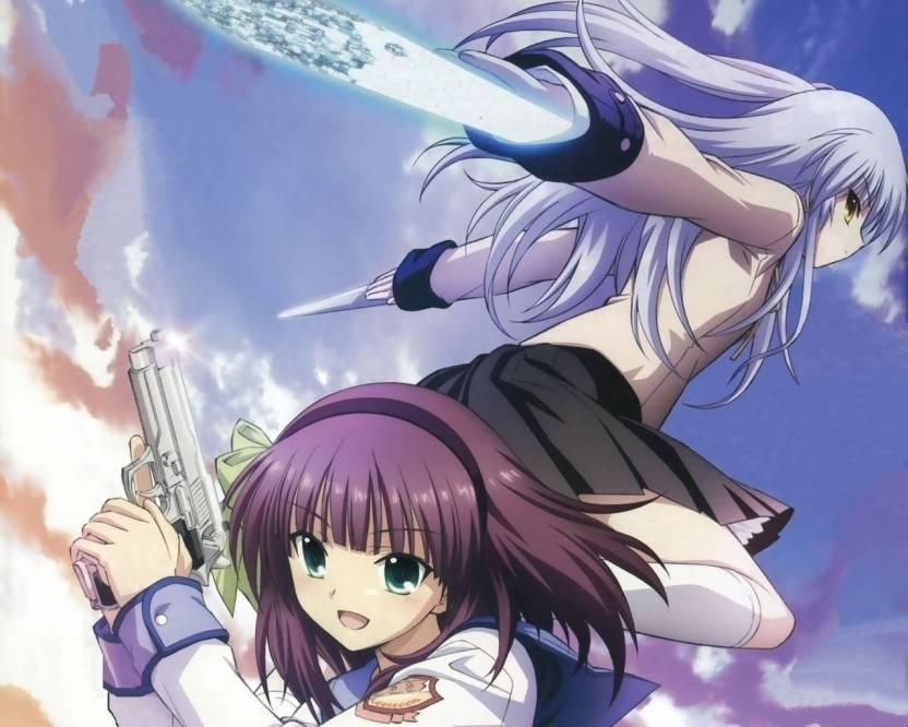 Athah Anime Angel Beats! Kanade Tachibana Yuri Nakamura 13