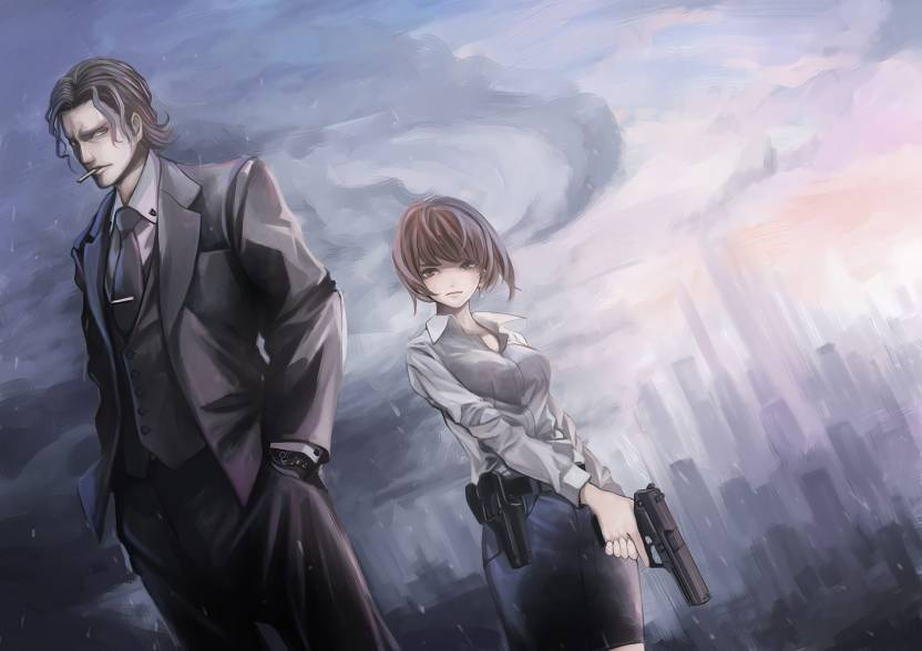 Athah Anime Psycho Pass Akane Tsunemori Sakuya Tougane 1319 Inches