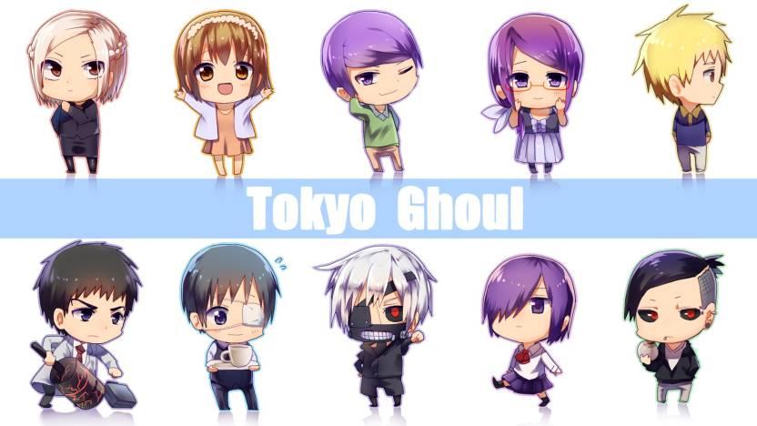 Athah Anime Tokyo Ghoul Akira Mado Hinami Fueguchi Touka