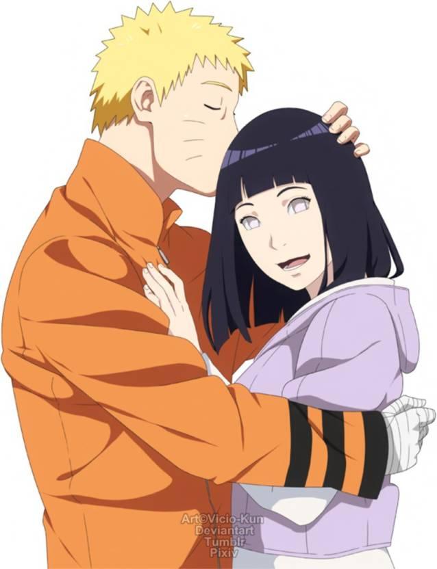 Athah Anime Naruto Hinata Hyūga Naruto Uzumaki 1319 Inches Wall