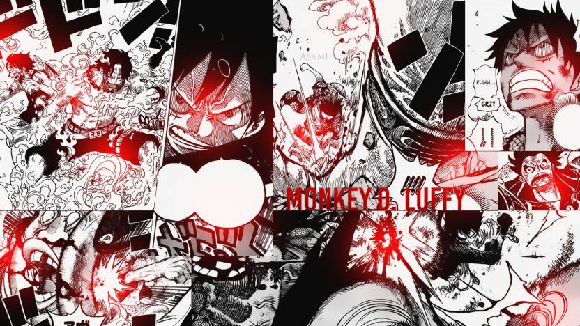 aabc5c26c2 Athah Anime One Piece Monkey D. Luffy Portgas D. Ace 13*19 inches Wall  Poster Matte Finish Paper Print (13 inch X 19 inch, Rolled)