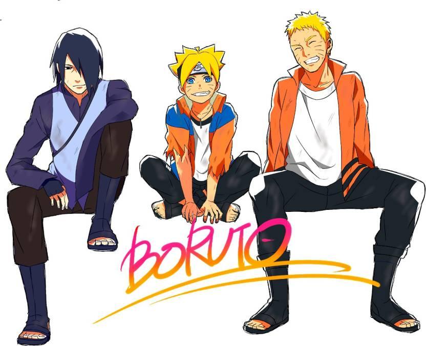 78+ Gambar Naruto And Boruto HD