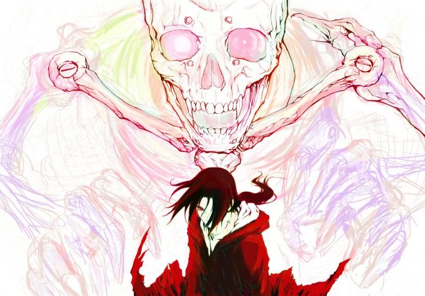 athah anime naruto itachi uchiha susanoo 13 19 inches wall poster