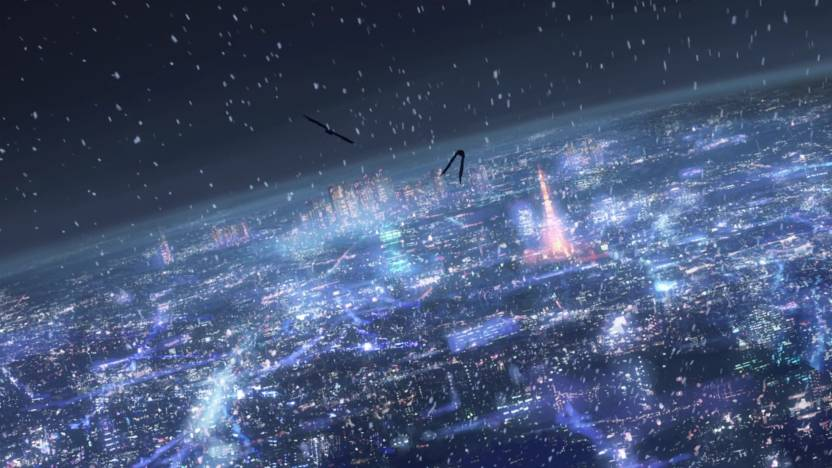 Athah Anime 5 Centimeters Per Second Centimeters Second 1319 Inches Wall Poster Matte Finish Paper Print 13 Inch X 19 Inch Rolled