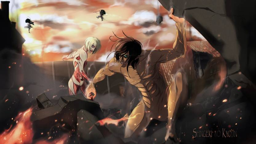 Attack On Titan Eren Yeager Anime Anime Wallpapers