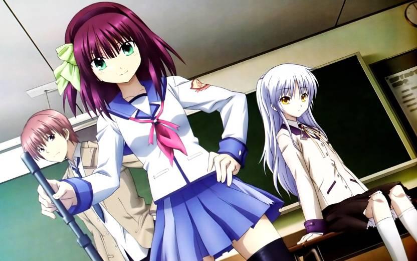 Athah Anime Angel Beats! Kanade Tachibana Yuri Nakamura