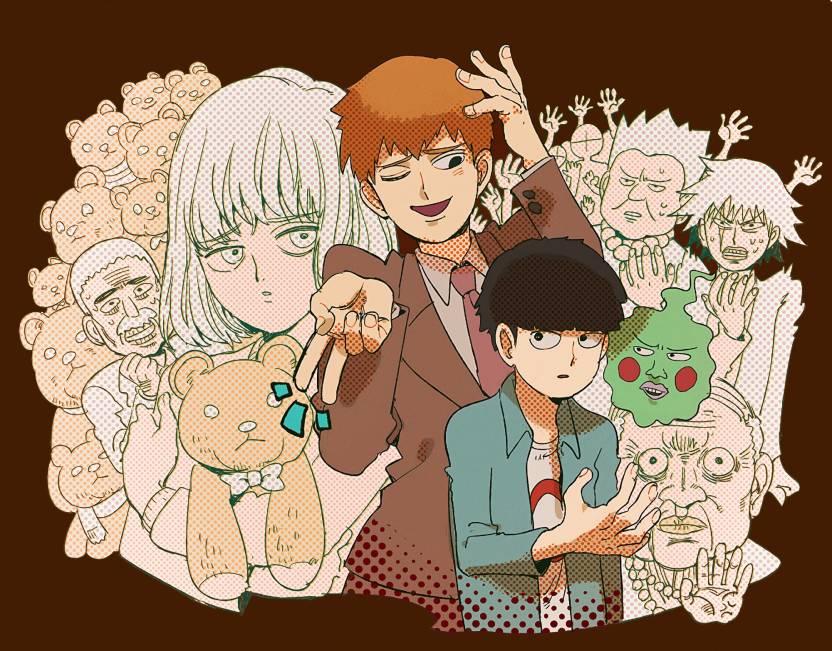 Athah Anime Mob Psycho 100 Shigeo Kageyama Arataka Reigen Ekubo 13