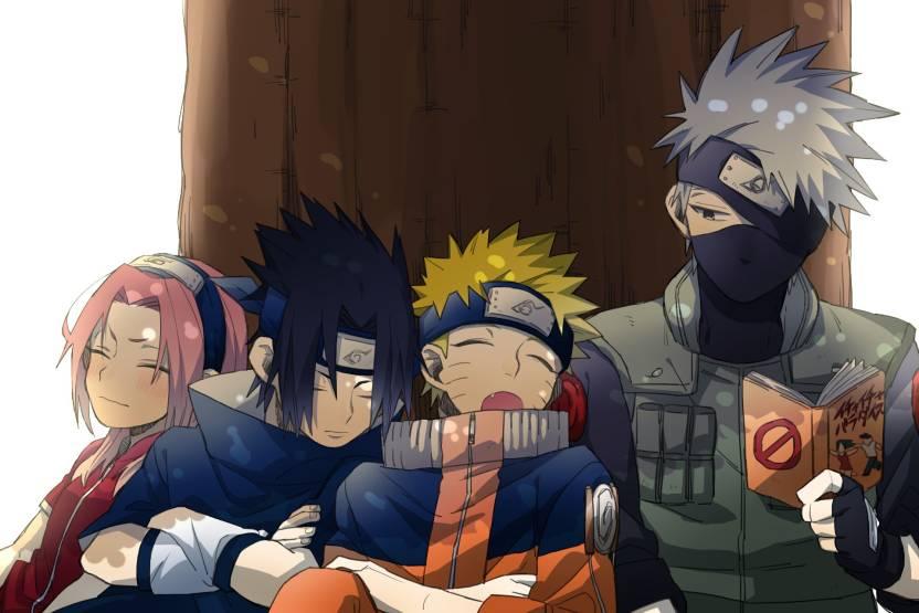 Athah Anime Naruto Sakura Haruno Kakashi Hatake Sasuke Uchiha Naruto