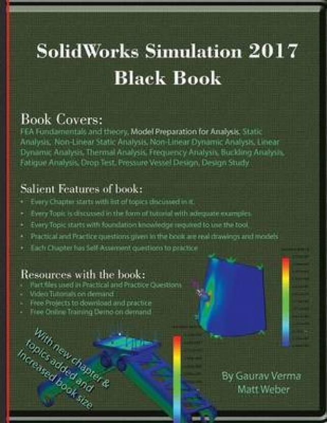 Solidworks Simulation 2017 Black Book: Buy Solidworks