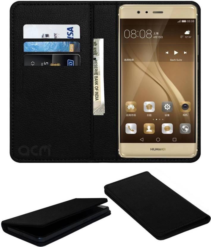 buy online fe7e1 e8797 ACM Flip Cover for Huawei P9 - ACM : Flipkart.com