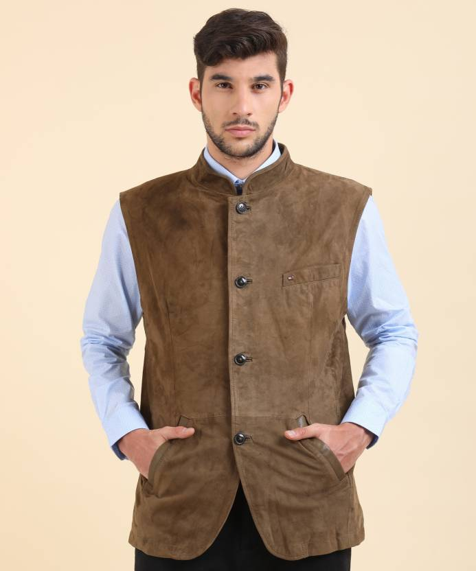 4ea84f1ec440 Tommy Hilfiger Sleeveless Solid Men s Jacket - Buy Green Tommy Hilfiger  Sleeveless Solid Men s Jacket Online at Best Prices in India