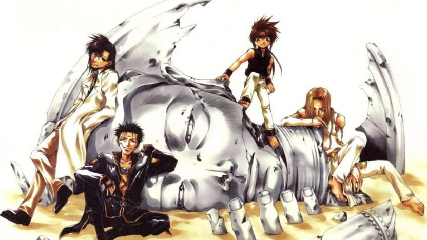 Athah Anime Saiyuki Goku Kenren Konzen Douji Tenpou Gensui ...