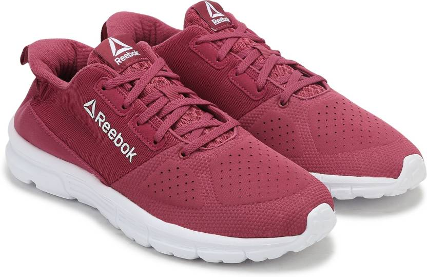 55ec32132 REEBOK AIM MT Running Shoes For Women - Buy TWISTED BERRY WHITE ...