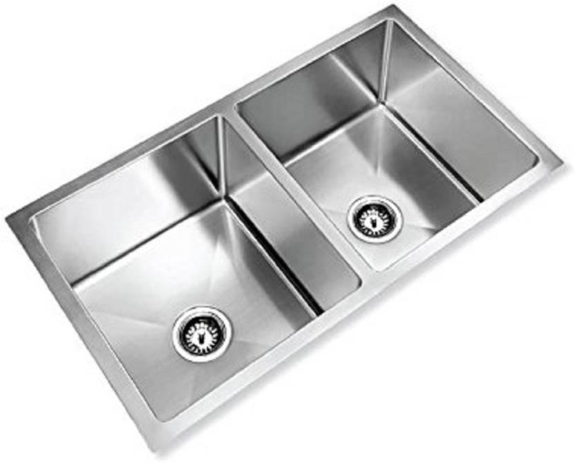Enjoyable Tavish 37X18X9 Double Bowl Kitchen Sink In Mat Finish 304 Interior Design Ideas Truasarkarijobsexamcom